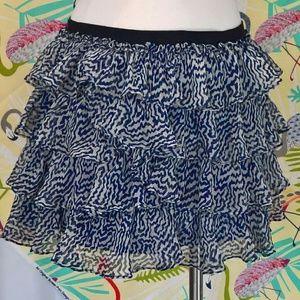 Elizabeth and James ruffled mini skirt Sz S